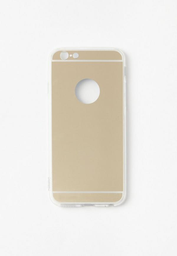 Gold Reflective Mirror iPhone 6 Case