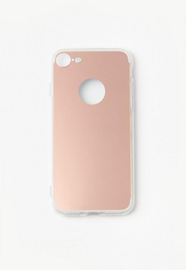 Rose Gold Reflective Mirror iPhone 7 Case