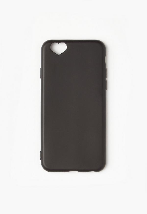 Black Cut Out Heart Detail iPhone 6 Case