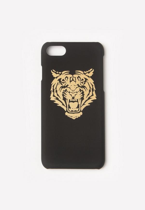 Gold Metallic Tiger iPhone 7 Case