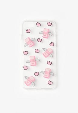 Pink Flying Dollar iPhone 6 Case
