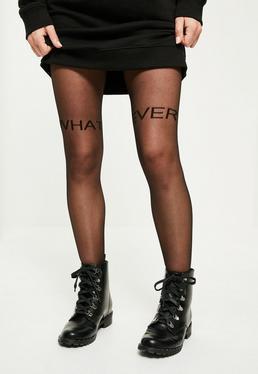 Black Whatever Stockings