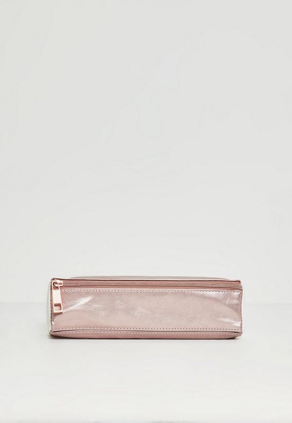 Pink WLLT Slim Pencil Case