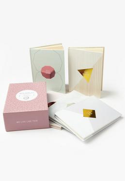 Pink WLLT Mini Notebook Set