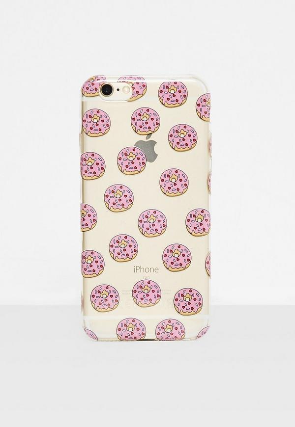 Clear Doughnut I Phone 6 Case