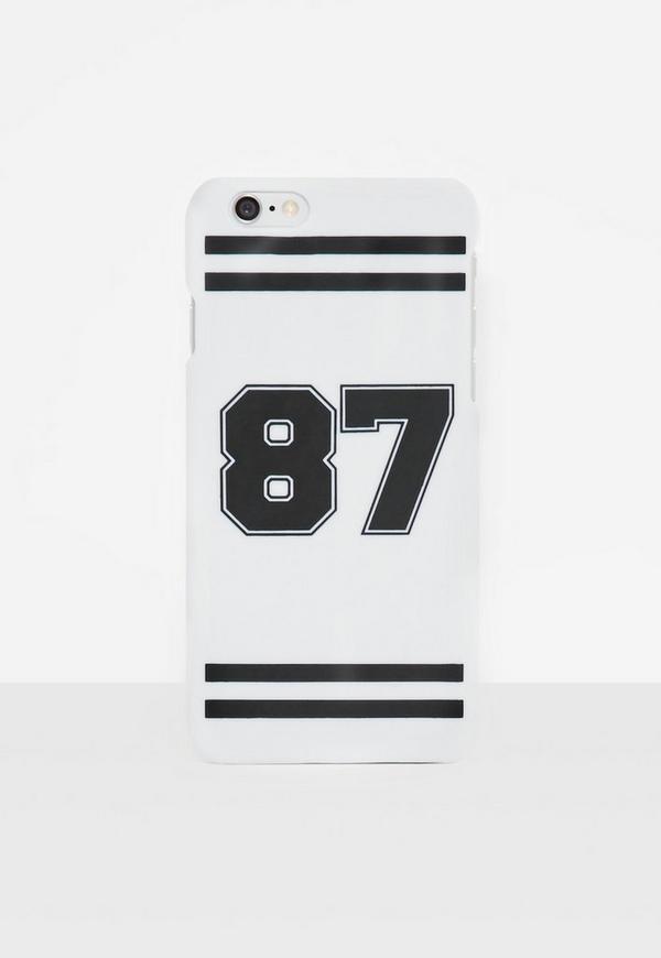 White Varsity I Phone 6 Case