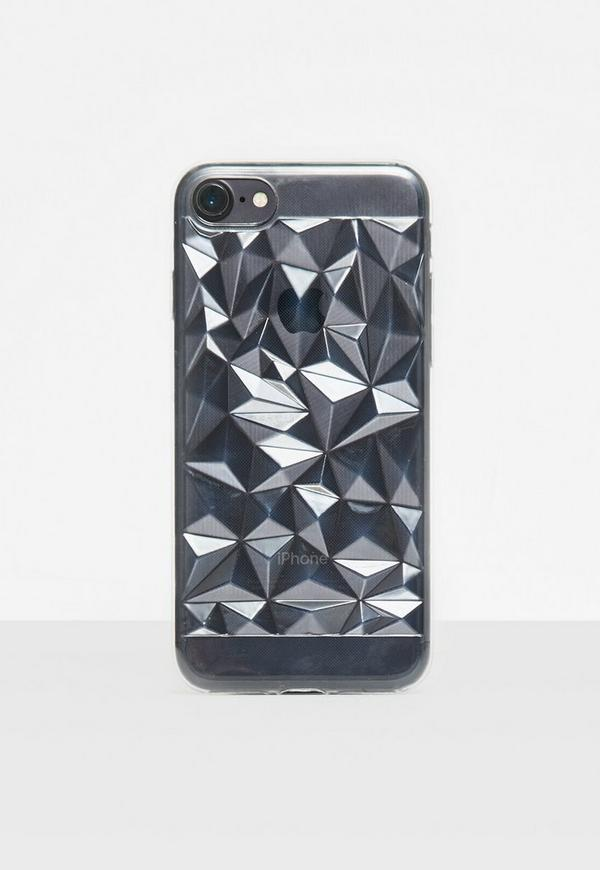 Clear Geometric I Phone 7 Case