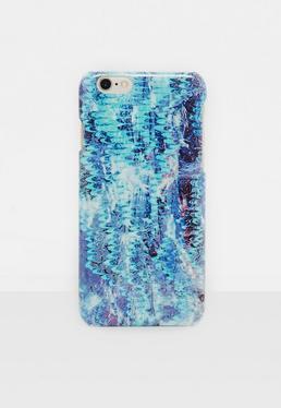Niebieska obudowa na telefon iPhone 6/6S
