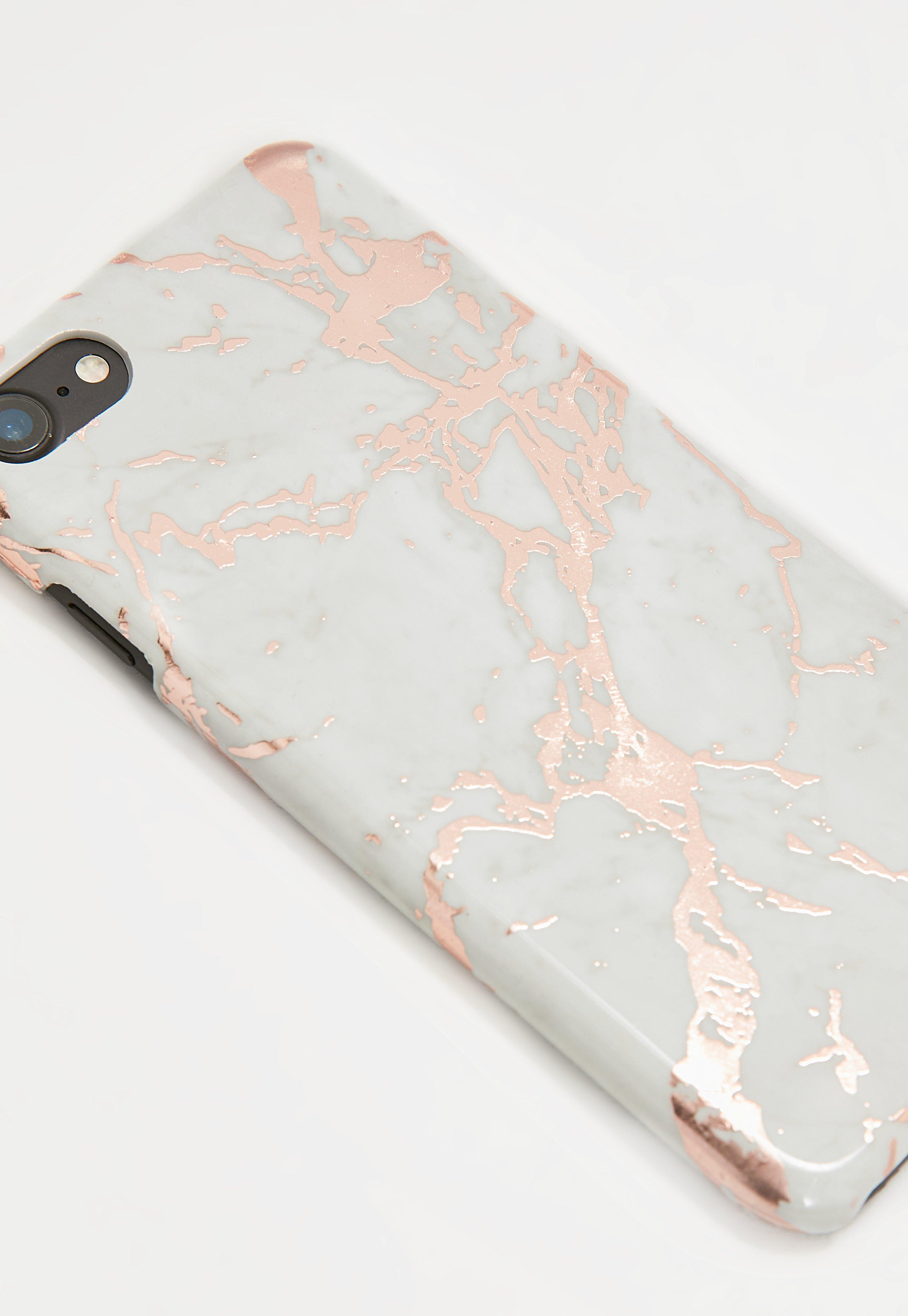 coque rose gold iphone 6 marbre
