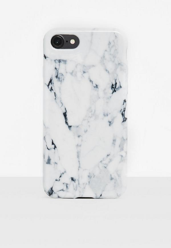 White Marble I Phone 7+ Phone Case