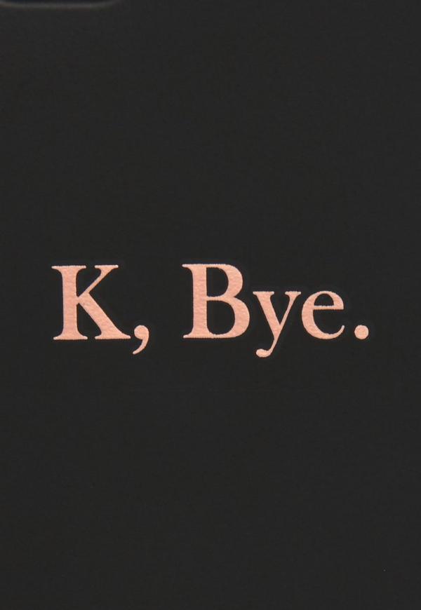 Black K Bye Matte I Phone 6 Case