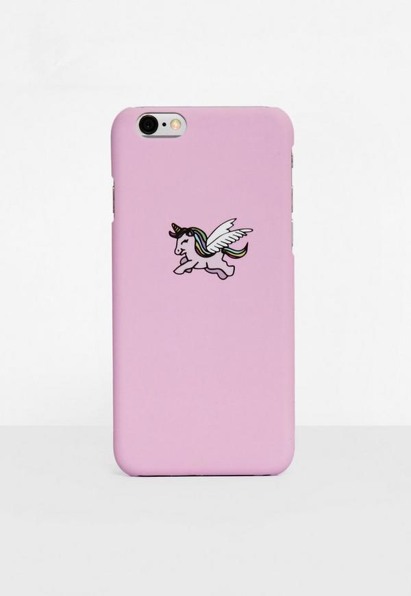 Pink Unicorn I Phone 6 Case