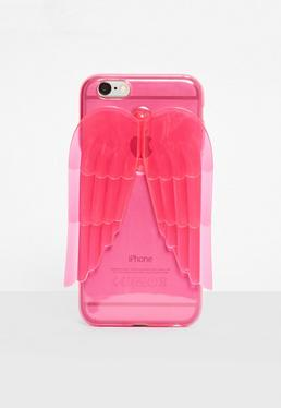 iPhone 6 Hülle mit Flügeln in Pink