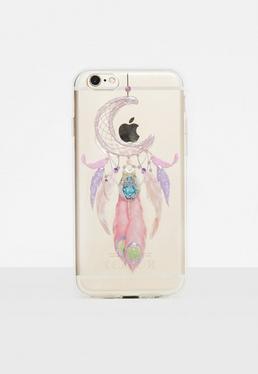 Coque d'iPhone 6/6s attrape-rêve transparente