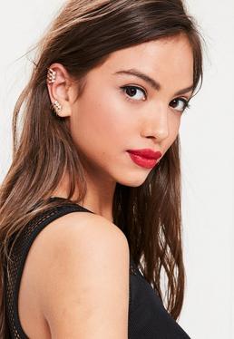 Gold Cut Out Ear Cuff