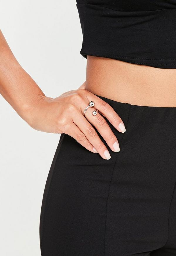 Silver Piercing Trim Ring