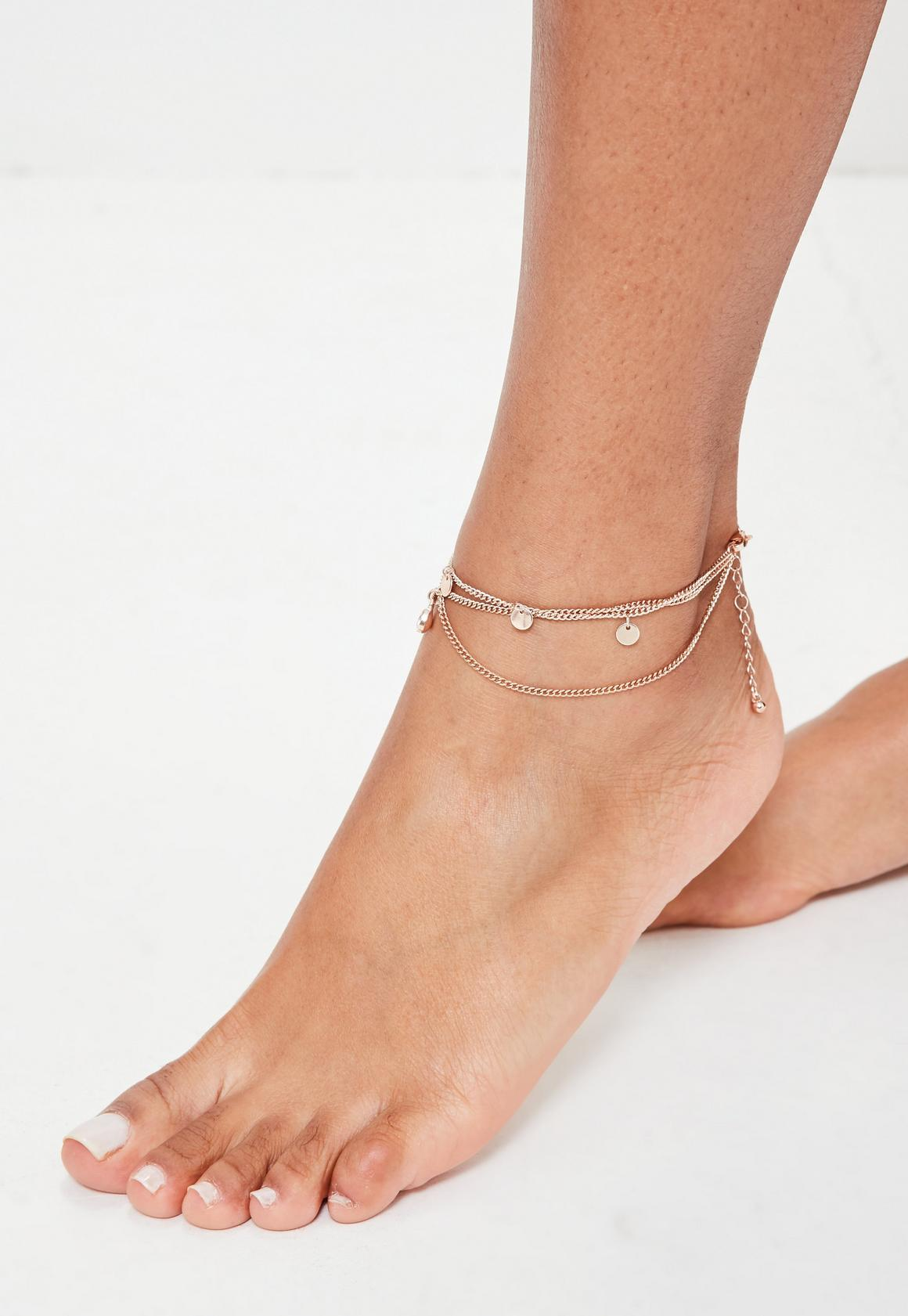 natural bohemian goods discovered a shop anklet beach pearls