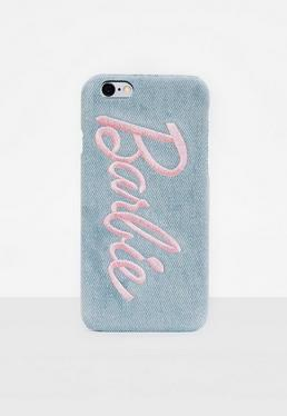 Barbie x Missguided Blue Denim Printed Phone Case Iphone 6