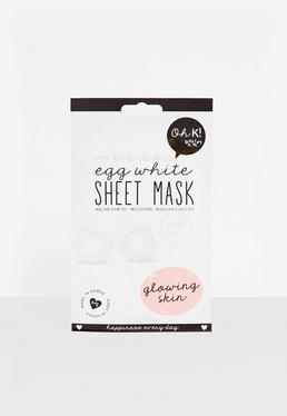 Oh K! Egg White Sheet Face Mask