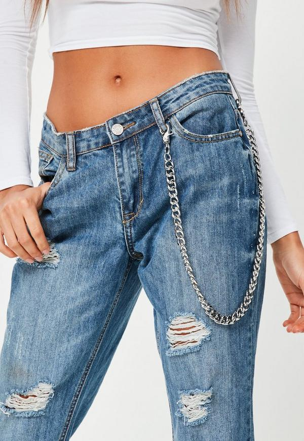 Silver Jeans Chain
