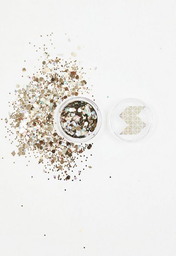 Shine Shack Silver&Gold Holographic Glitter Mix