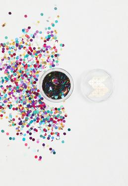 Shine Shack Pink Zodiac Holographic Glitter Mix