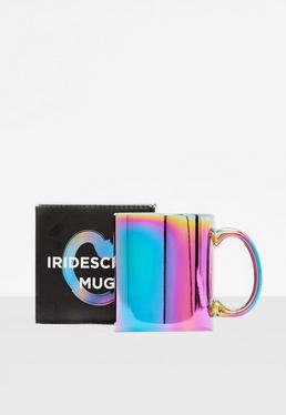 Purple Iridescent Mug