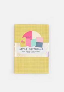Conjunto de 3 cuadernos para notas