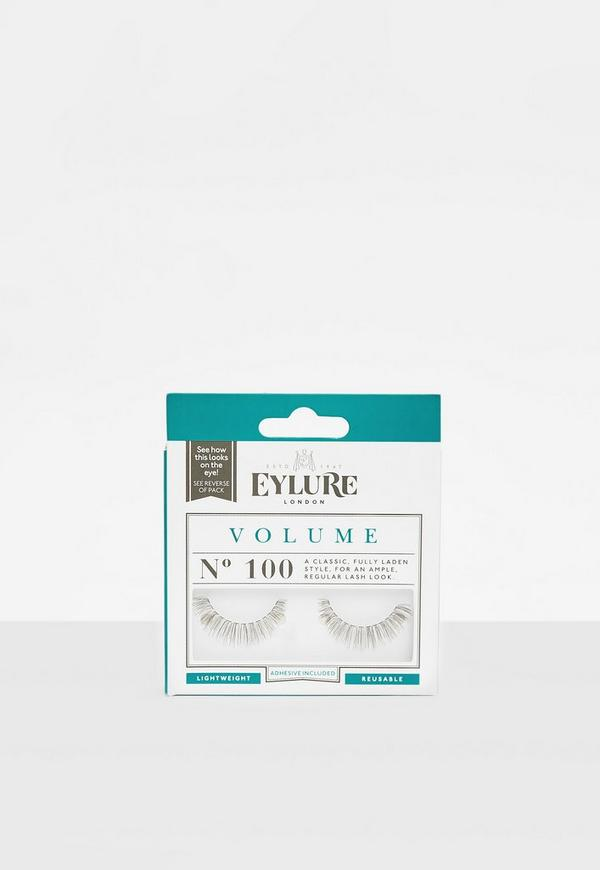 Eylure Black Volume No.100 False Eyelashes