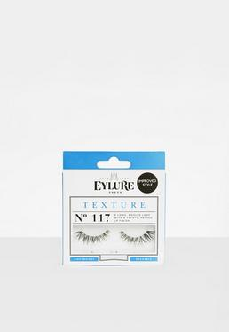 Eylure Black Textured No.117 False Eyelashes