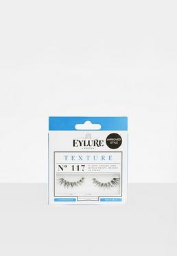 Eylure Black Textured No.117 False Eyelashes
