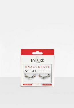 Eylure Black Exaggerate No.141 False Eyelashes