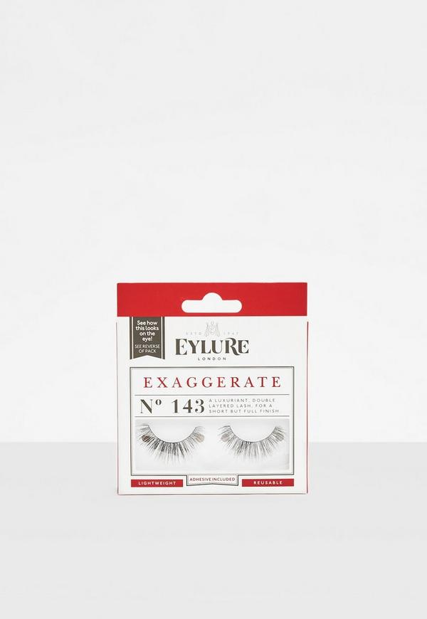 Eylure Black Exaggerate No.143 False Eyelashes