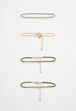 Heart Detail Bracelet Pack