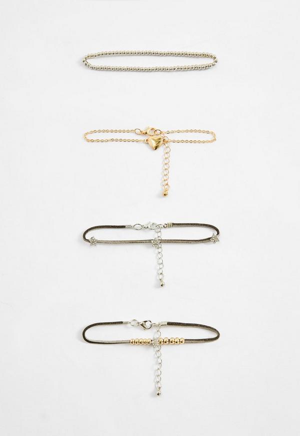 Heart Detail Bracelet Pack