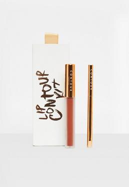 Rostrotes Mattes Liquid Lipstick & Lip-Liner Set