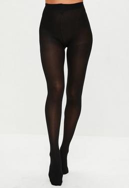 Collants noirs Pretty Polly 40 deniers