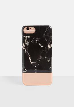 Black Marble Iphone 6/7 Case