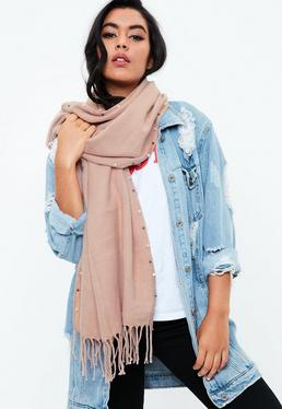Pink Pearl Scarf