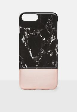 Black Marble Iphone 6 Plus 7 Case