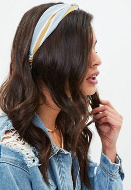 Blue Knot Font Headband