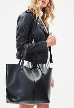 Bolso shopper en negro