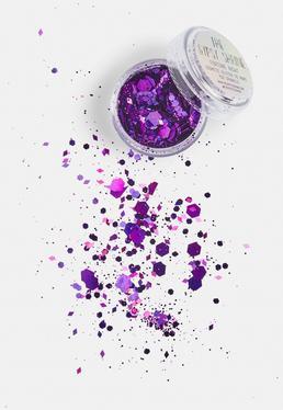 The Gypsy Shrine Purple Medusa Glitter