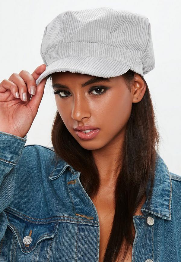 f3217e91078 ... Grey Cord Baker Boy Hat. Previous Next