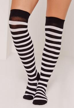 Over the Knee Socks Stripe