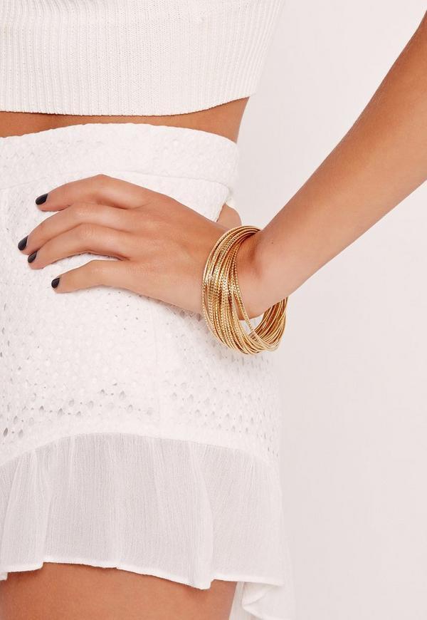 Stacking Bracelets Gold
