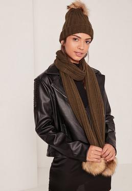 bonnet echarpe fourrure. Black Bedroom Furniture Sets. Home Design Ideas