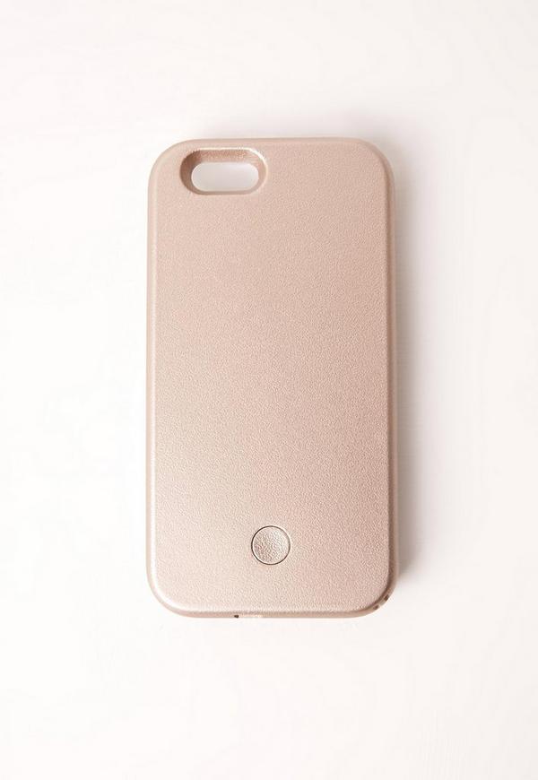 Selfie iPhone 6 Case Gold