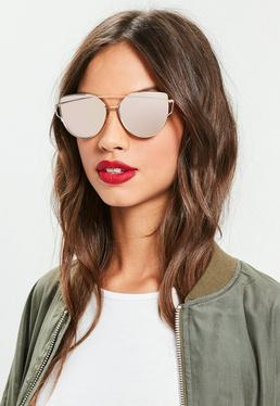 womens sunglasses tinted sunglasses missguided. Black Bedroom Furniture Sets. Home Design Ideas