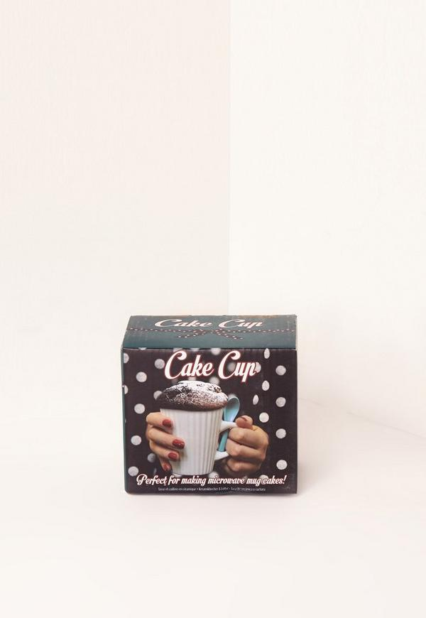 Cake Cup Mug White